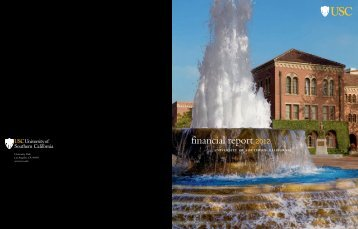 2012 Annual Report - About USC - University of Southern California