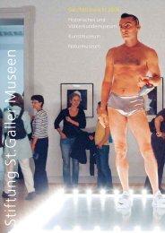 Geschäftsbericht 2006 - Naturmuseum St.Gallen