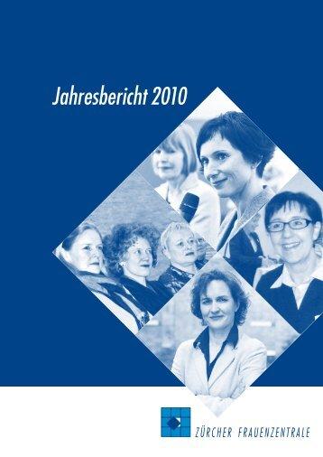 Jahresbericht 2010 - Frauenzentralen