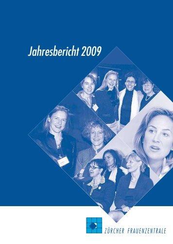 Jahresbericht 2009 - Frauenzentralen