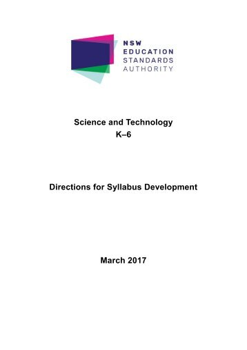 Directions for Syllabus Development March 2017