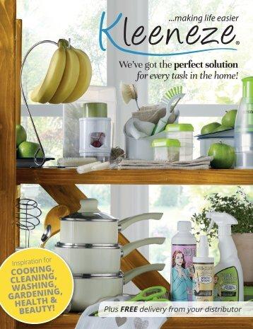 Kleeneze Main Book – Spring/Summer Issue 1 2017 UK