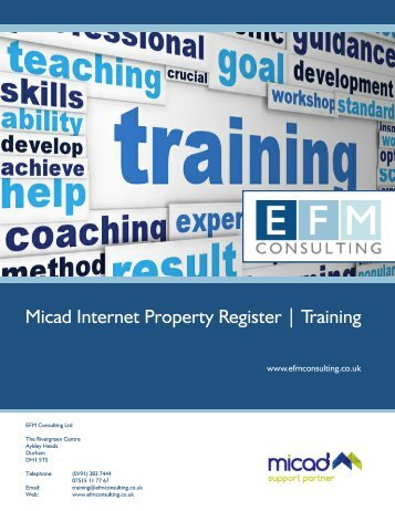 EFM%20Consulting%20Ltd-Training%20Catalogue%202016