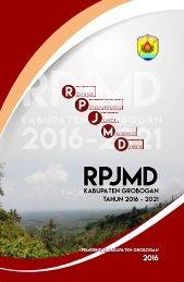 RPJMD Grobogan 2016-2021