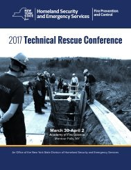 2017 Technical Rescue Conference