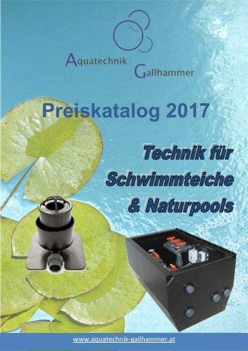 Preiskatalog Aquatechnik Gallhammer 2017
