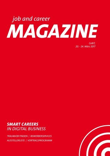 job and career at CeBIT 2017_MAGAZINE_web