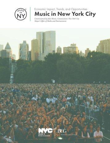 Music in New York City