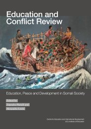 Education and Conflict Review