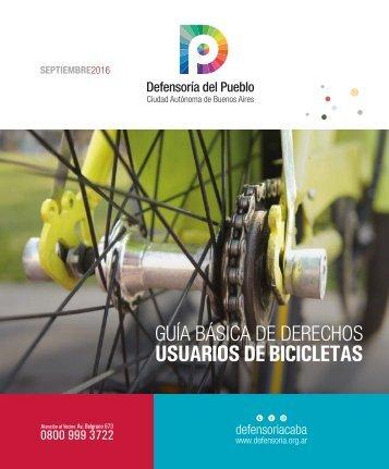 USUARIOS DE BICICLETAS