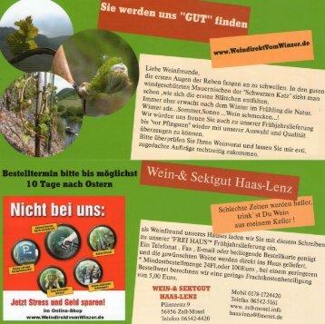 TOP - Frühjahrangebot - Auslieferung bis vor Pfingsten!