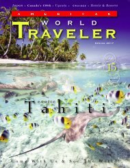American World traveler Spring 2017 Issue