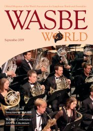 print - World Association for Symphonic Bands and Ensembles