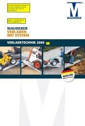 MAUDERER VERLADEN MIT SYSTEM - PKW-Anhänger-Hauck