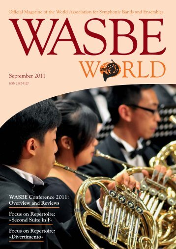 September 2011 - World Association for Symphonic Bands and ...