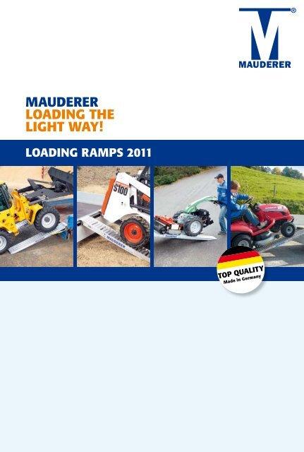 MAUDERER LoADing thE Light wAy! - Landbruksteknikk