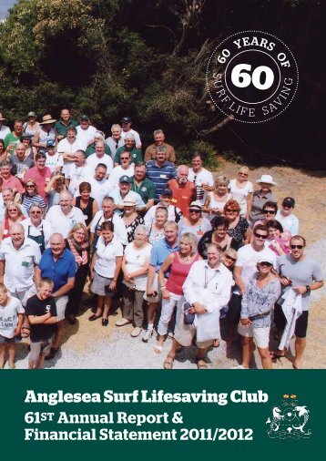 61st Annual Report 2011/2012 - Anglesea Surf Life Saving Club