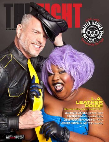 THE FIGHT SOCAL'S LGBTQ MONTHLY MAGAZINE MARCH 2017
