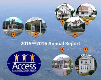 2015- 2016 Access Community Action Agency Annual Report