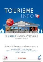 le kiosque tourisme information - Comité de Tourisme de Seine et ...