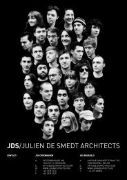 JDS/JULIEN DE SMEDT ARCHITECTS