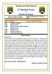 Sports Results 5 Spring '12153.51 kB PDF - Handcross Park School