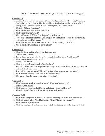 short answer study guide questions pyg on act one  short answer study guide questions mcgavockenglish1