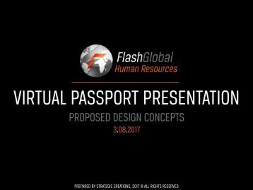 HR Virtual Passport Presentation Design Concepts, 3.8.2017