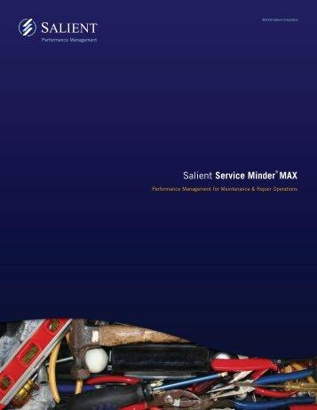 Salient Service Minder® MAX