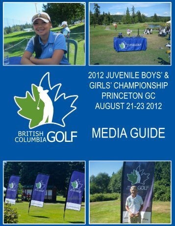 Juvenile Boys'/Girls' - British Columbia Golf Association