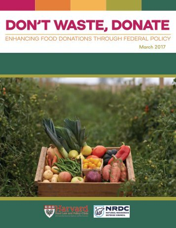 DON'T WASTE DONATE