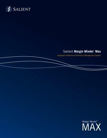 Salient Margin Minder® Max