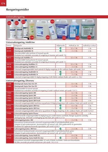 Rengøringsmidler - Letoren