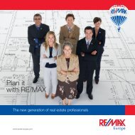 Plan it with RE/MAX - RE/MAX Belgium