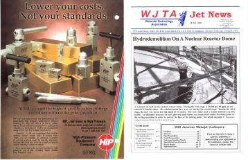 June - Waterjet Technology Association