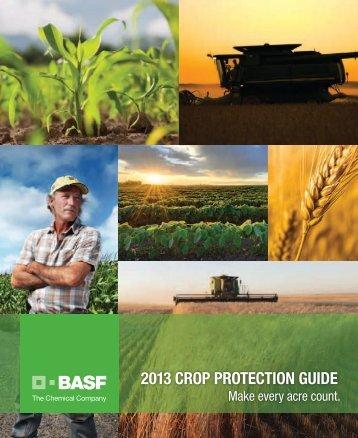 2013 CROP PROteCtIOn GUIde - BASF Canada - Basf-canada.com ...