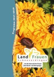 Landfrauen Schneverdigen Programm 2017/18