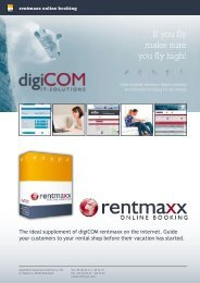 Products rentmaxx online booking - digiCOM IT-Solutions