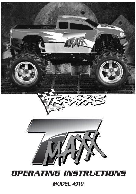 Traxxas t-maxx 3. 3 manual.