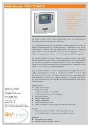 Heizkreisregler STECA TH A603 M.indd - Solmaxx
