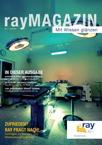 zufrieden? ray fragt nach! - ray facility management group