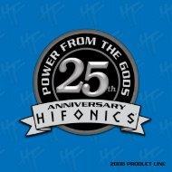 2008 PRODUCT LINE - Hifonics