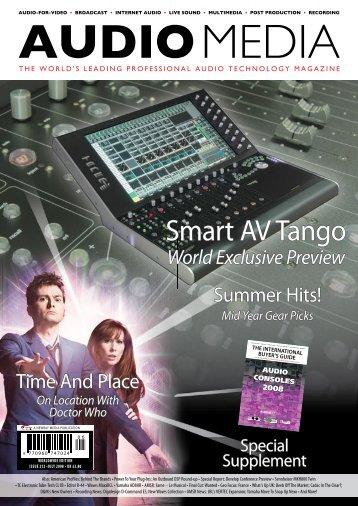 Smart AV Tango - Audio Media
