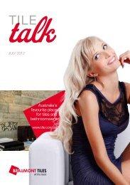 Tile Talk July 2012 - Beaumont Tiles