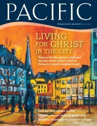 living for christ - FPU News - Fresno Pacific University