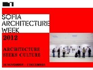 ARCHITECTURE SEEKS CULTURE