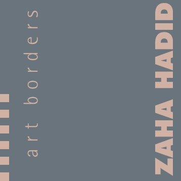Broschüre Zaha Hadid.indd - Marburg