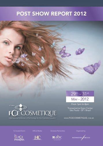 POST SHOW REPORT 2012 - FCE Cosmetique