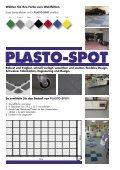 bereiche, Werkstattbereiche, usw. PLASTO-SPOT - Seite 2