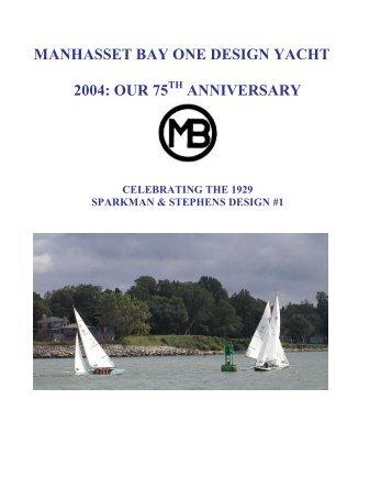 manhasset bay one design yacht 2004: our 75